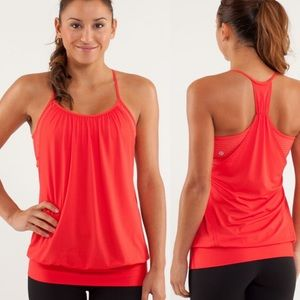 Lululemon | Red No Limits Tank Top 6
